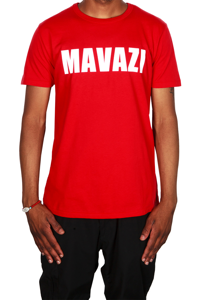 MAVAZI T-SHIRTS RED